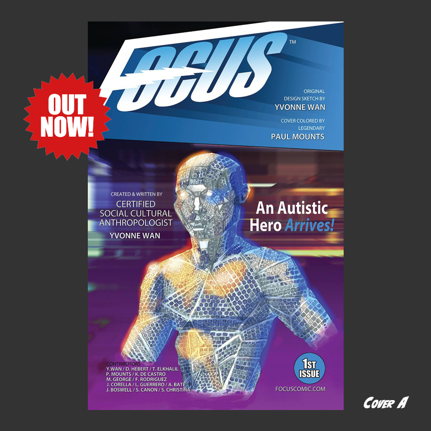 Focus Comic with the Main Cover:  Cover A