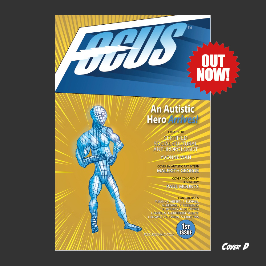 Focus Comic: Cover D