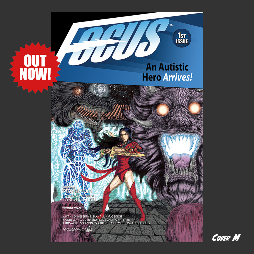 Focus Comic: Cover M